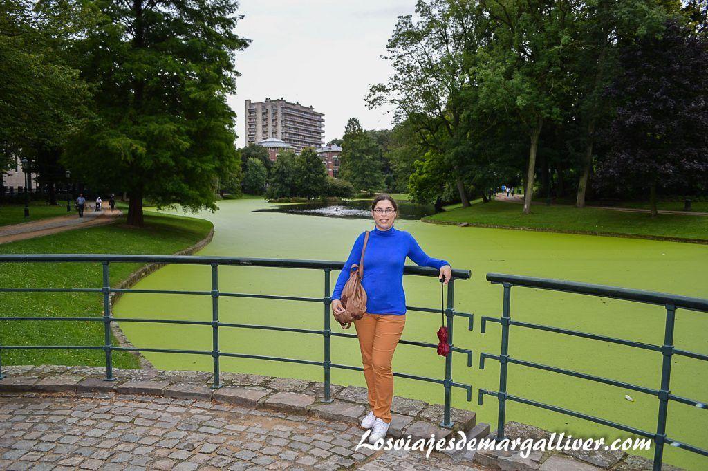 Parque Leopold en Bruselas - Los viajes de Margalliver